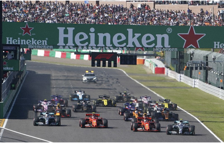 The Japanese Grand Prix has been canceled