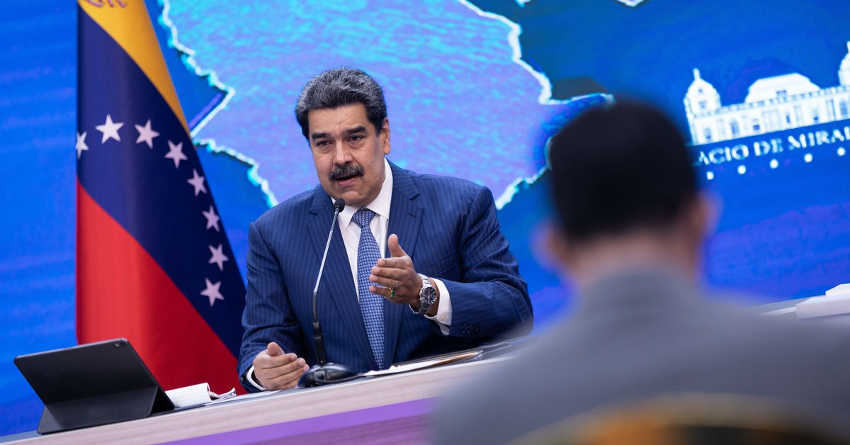 """The United States has urged Nicolas Maduro to focus on """"candid discussions"""" with the Venezuelan opposition"""