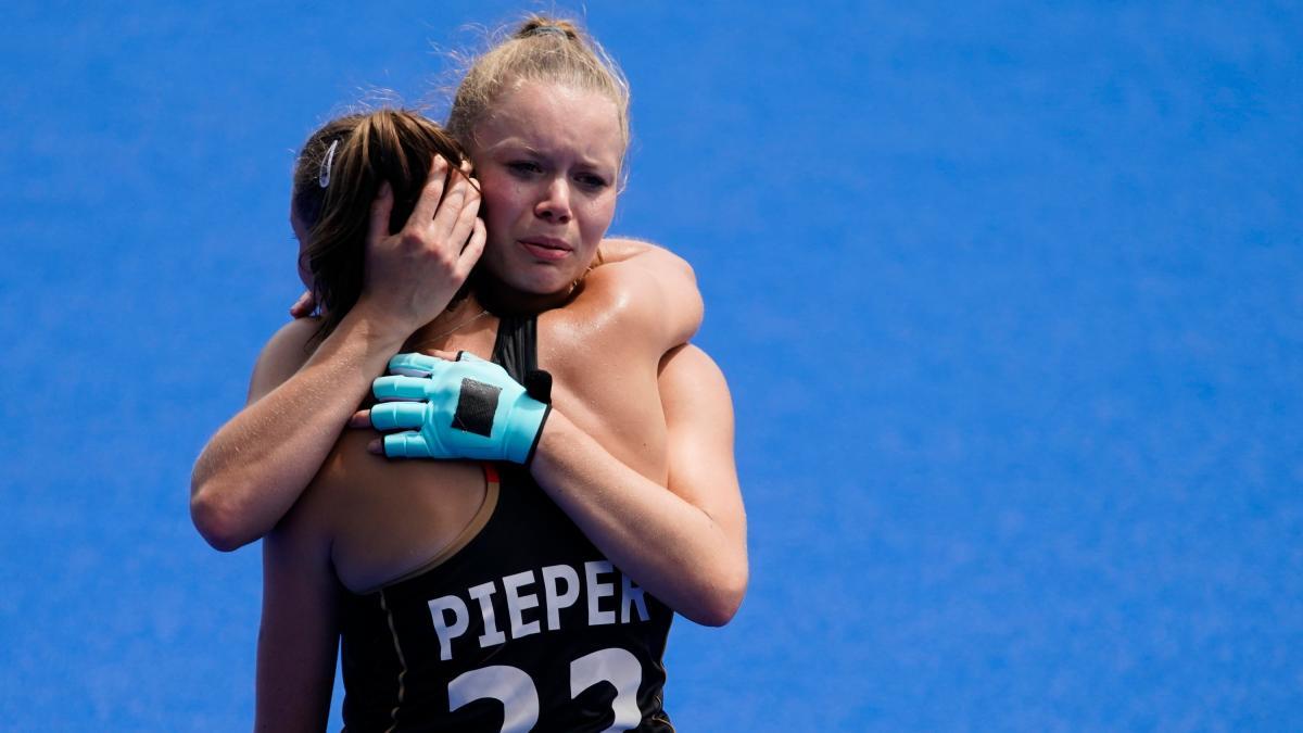 Tokyo 2021: German women's hockey team eliminated in the quarter-finals