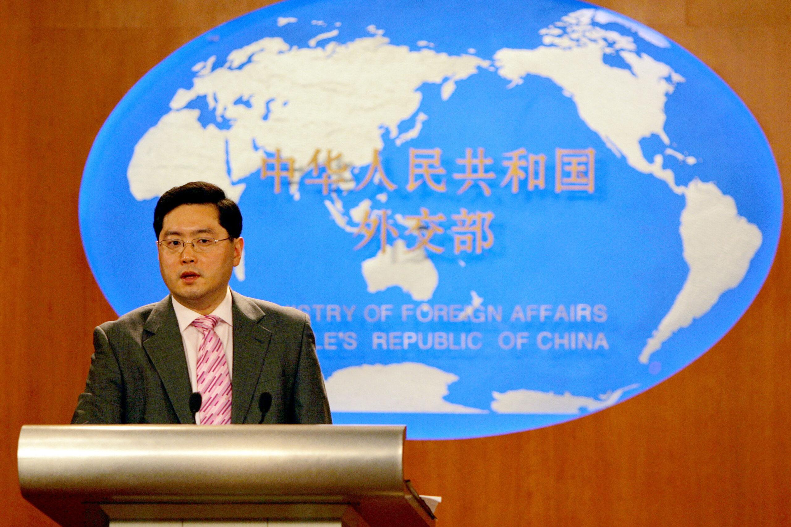 Who is Qin Gang, the new Chinese ambassador to Washington?