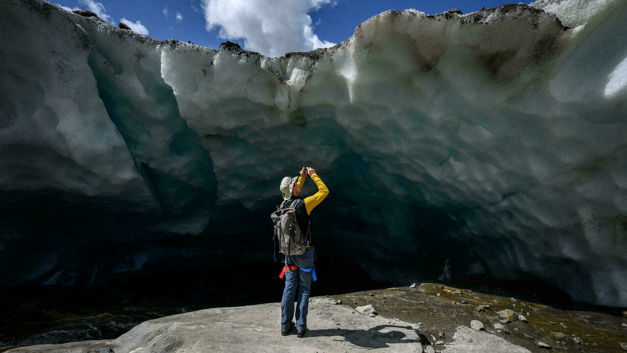 Matthias Haas, witness to the inevitable impact of climate change on the glaciers of Switzerland