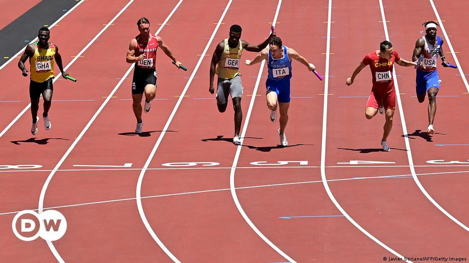 4 x 100m American Relay: When Failure Becomes Chronic |  Sports |  DW