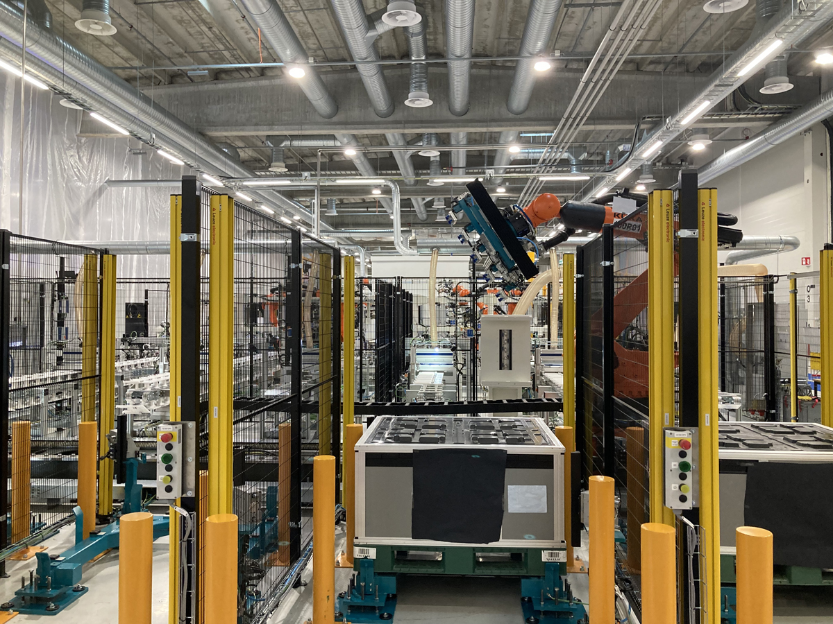 Valmet Automotive has opened a new battery factory in Finland
