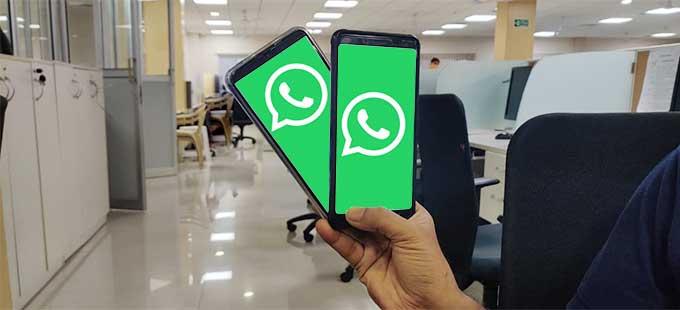 WhatsApp on both phones soon!