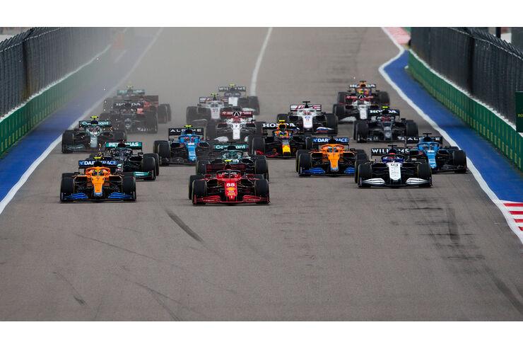 Formula 1 calendar 2022: information about F1 dates