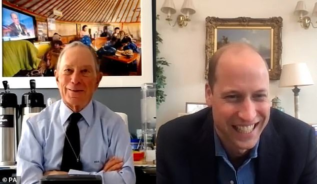 Prince William co-authored an article with Michael Bloomberg on climate change for USA Today
