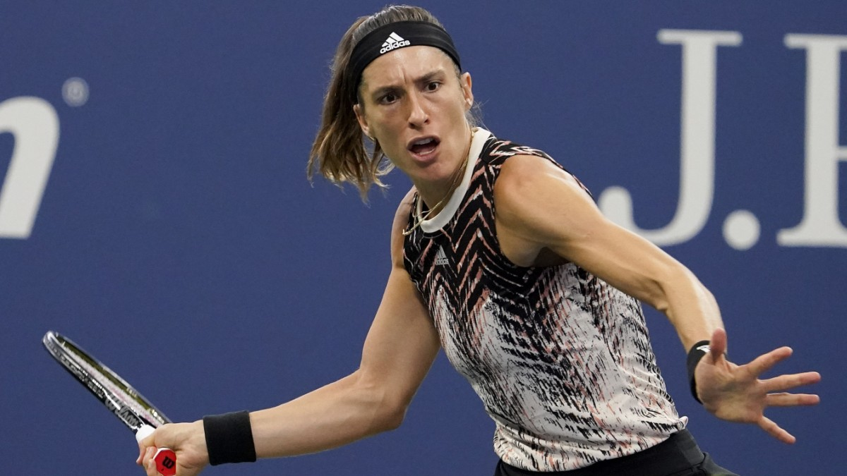 Andrea Petkovic at the US Open Sports