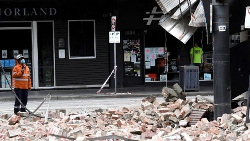 Inusual terremoto provoca escenas de pánico en ciudad australiana de Melbourne. (AFP)