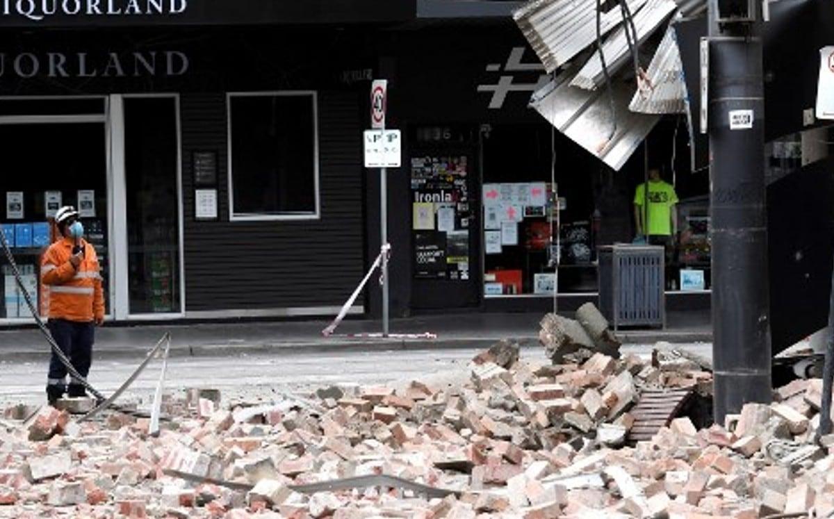 Australia.  Unusual earthquake causes panic in Melbourne |  Video