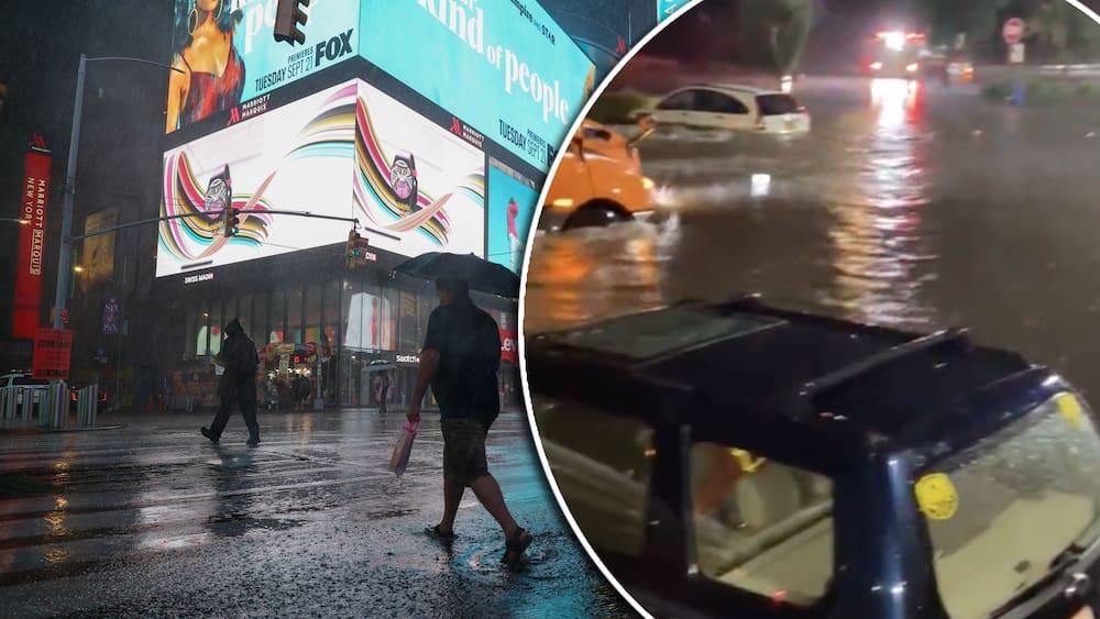 Big Apple weather emergency: New York City flash flood
