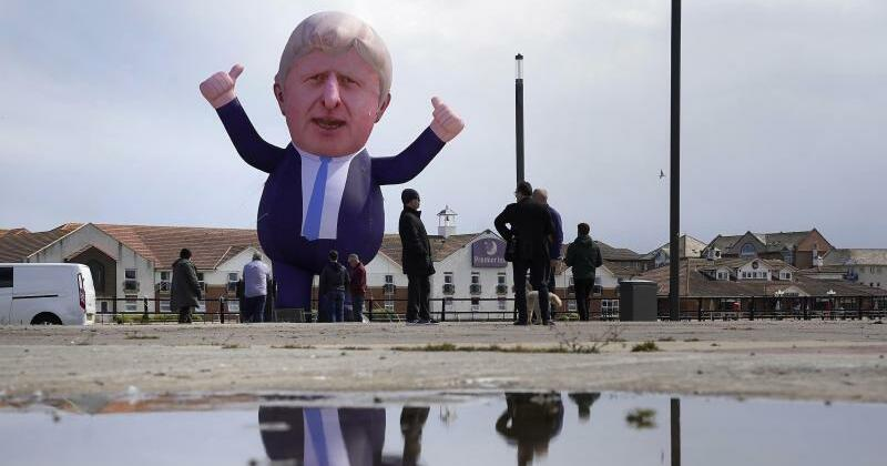 Boris Johnson and the Earth Shattered