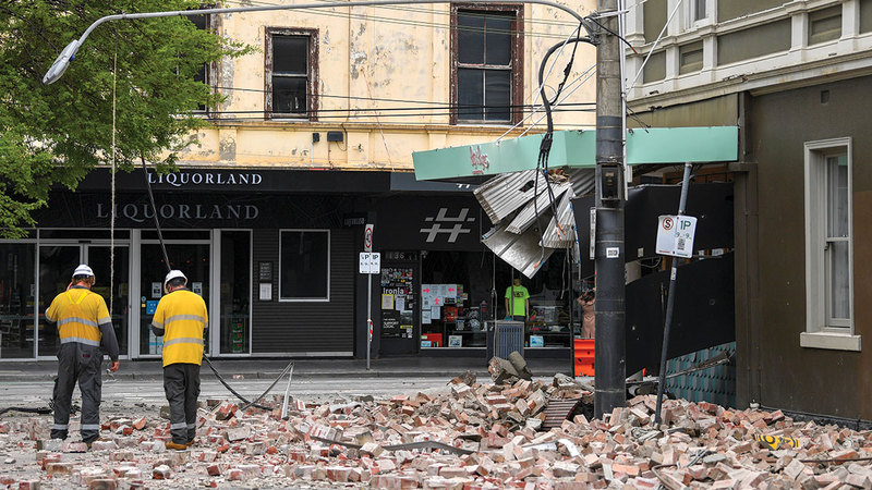 Events and photos.. An earthquake causes panic in Melbourne, Australia