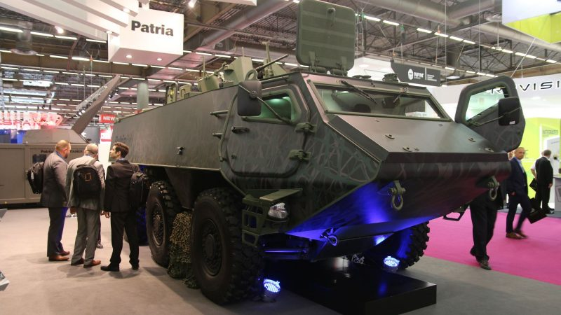 Finland and Latvia ordered the first 200 6x6 armored vehicles from Homeland for 200 million