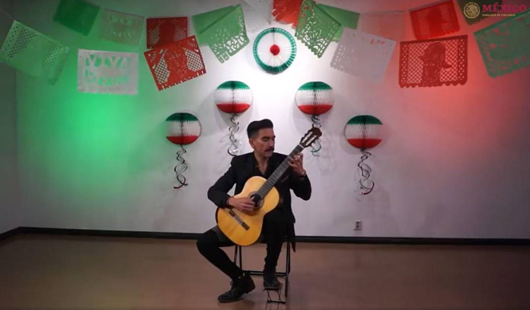 From Finland, Culiacan Alan Guerra presents a Mexican concert at the invitation of the Embassy of Mexico