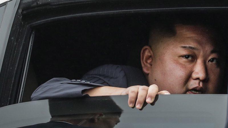North Korea.  Kim Jong Un demands urgent action.  It's about climate change