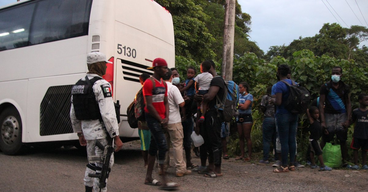 The International Organization for Migration is concerned about the situation of Haitian migrants at the Mexico-US border