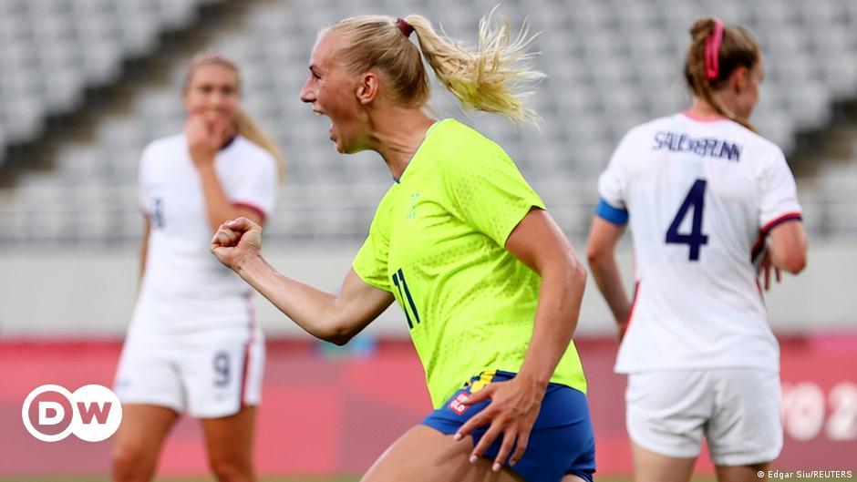Women's soccer: Sweden shocks world champion America |  Sports |  DW