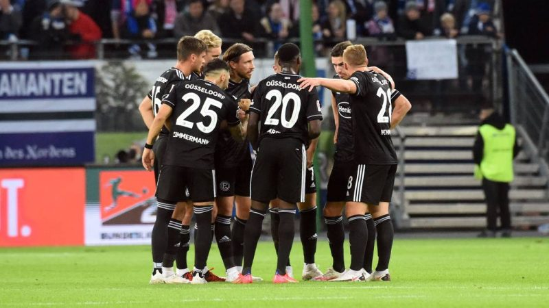 #1 after the red card against Edgar Prib at Hamburger SV, Adam Bodzek was there as leader