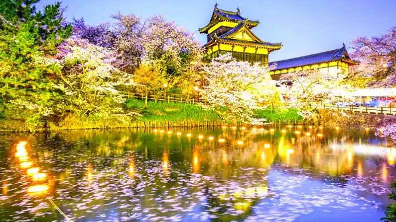 Japan: Japan has many tourist destinations.  Gardens like sushi, cherry, and sake in particular will get you hooked.  Here the value of our rupee is equal to 1.55 JPY.