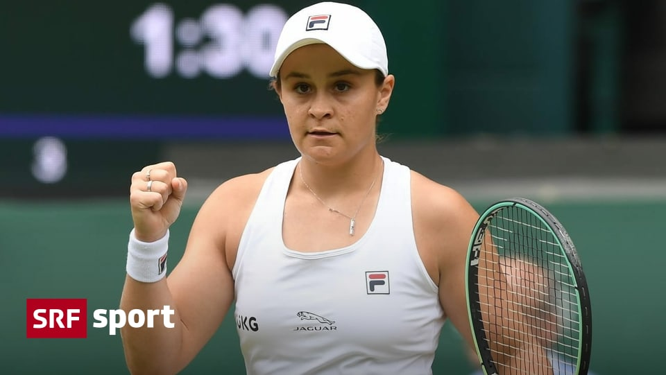 News from tennis – Australia should do without Barty – Sports