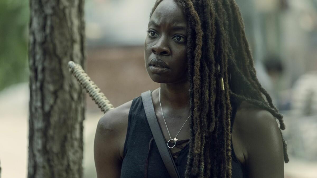 """the walking Dead"" Season 10: Michonne is in constant anxiety."