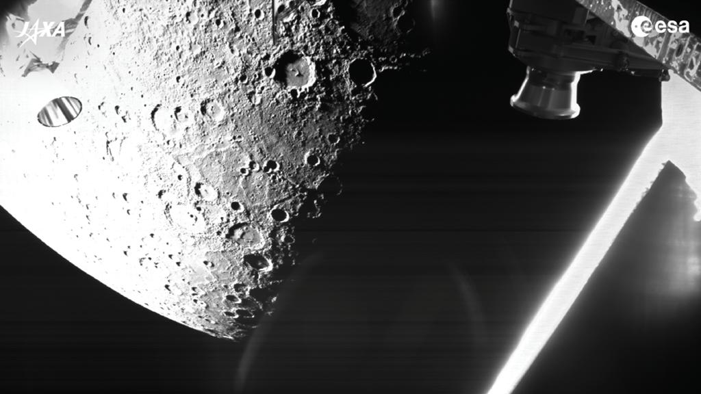 The BepiColombo space probe takes amazing pictures of the planet