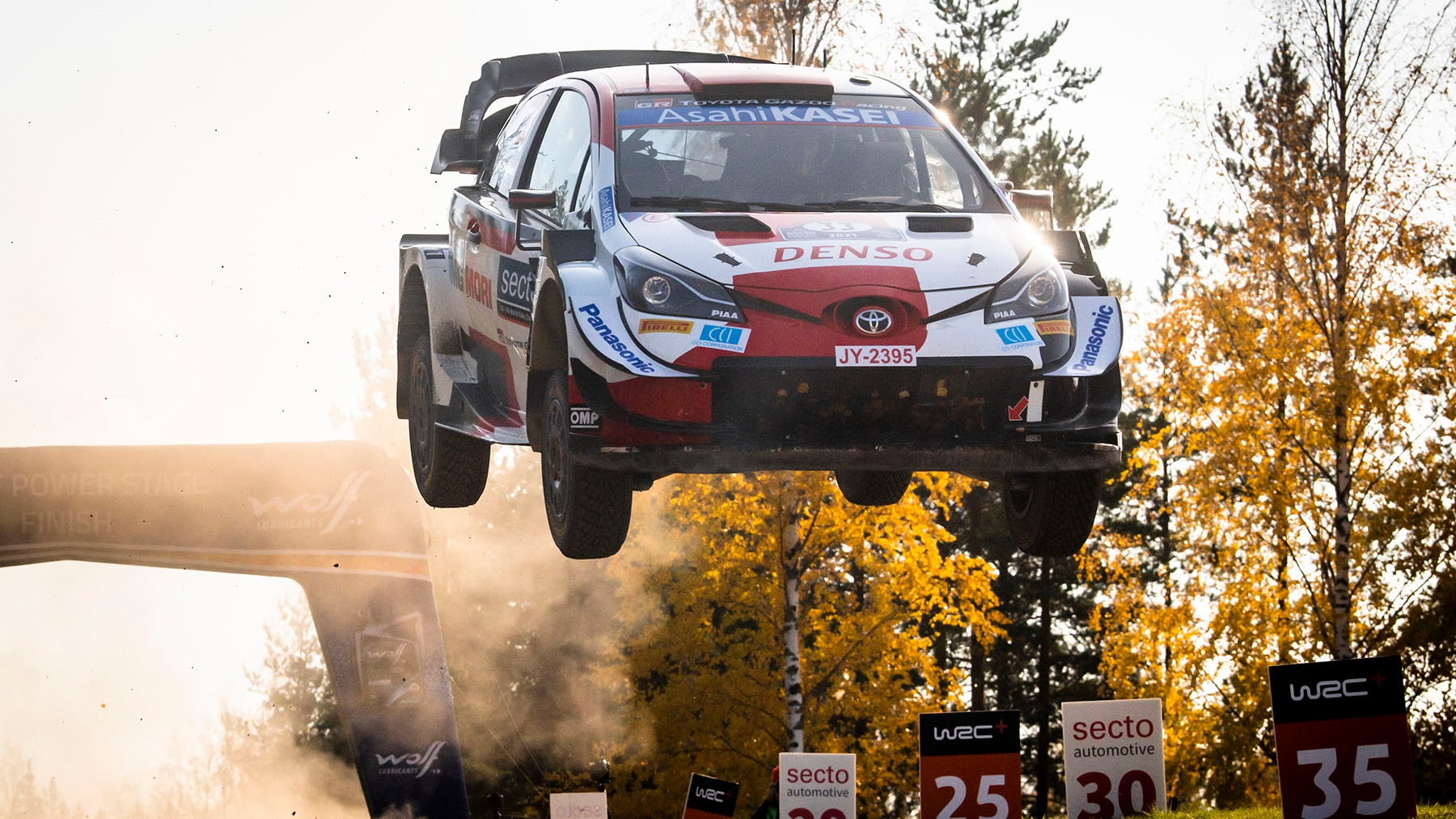 Rally Finland: Toyota driver wins fastest gravel rally