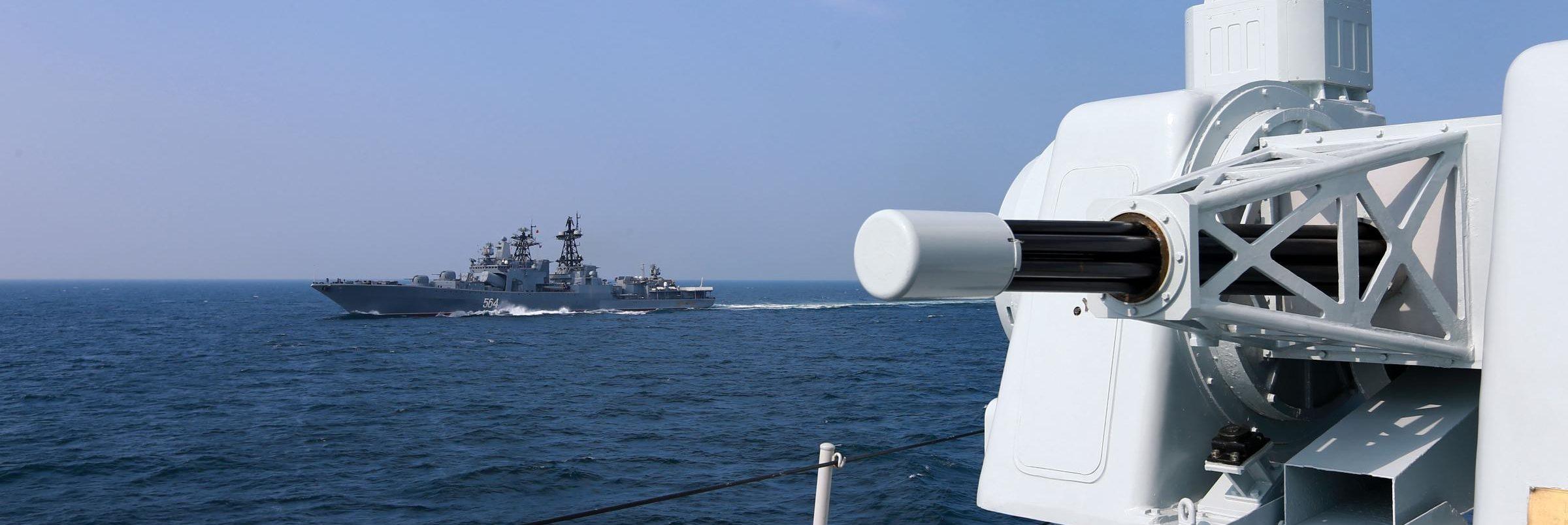 Beijing's threats to the British fleet