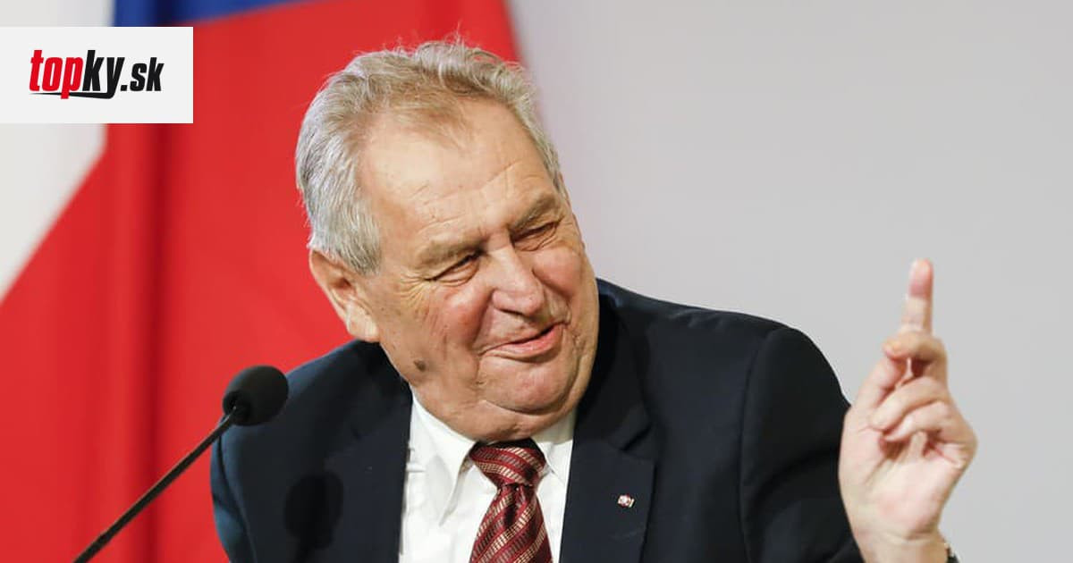 The Czech political world is clear: the last word in the elections will not be the voters, but President Zeman