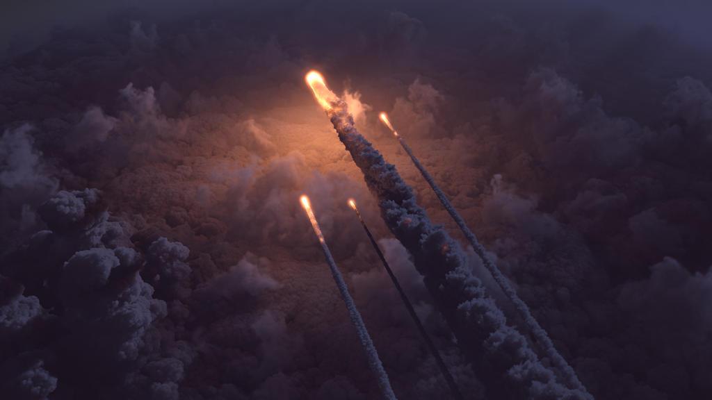Fireballs, fireball, fireball, meteor shower