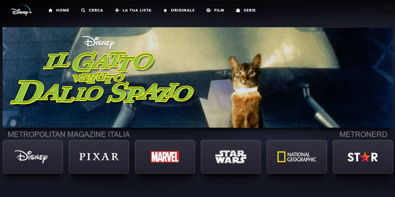 The Cat from Outer Space: (Re)Discover Disney Plus