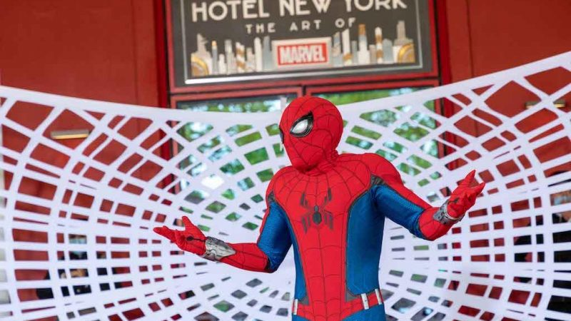 Disneyland Paris opens new The Art of Marvel exhibition