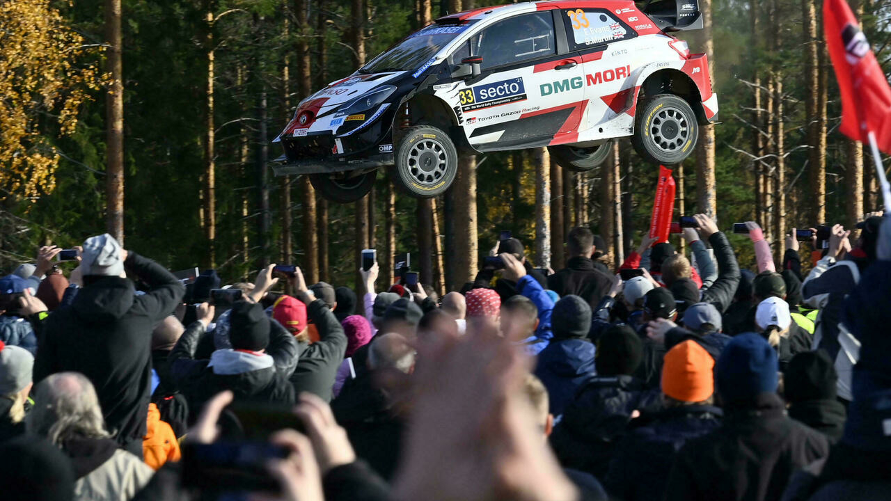 Evans wins in Finland and gets close to Ogier to add excitement to the World Rally Championship