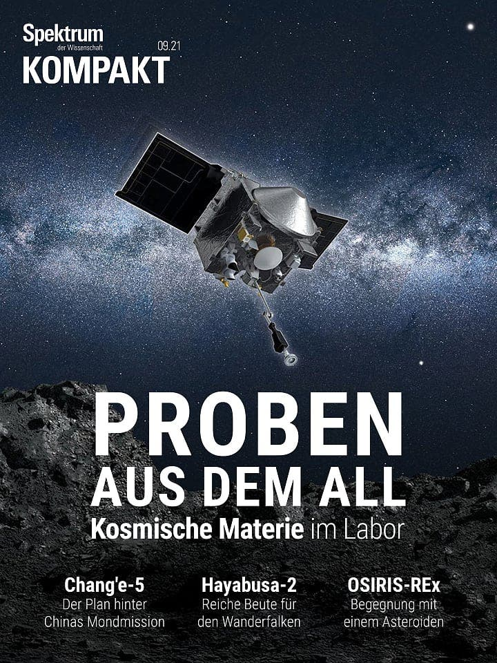 Spectrum agreement: samples from space - cosmic matter in the laboratory