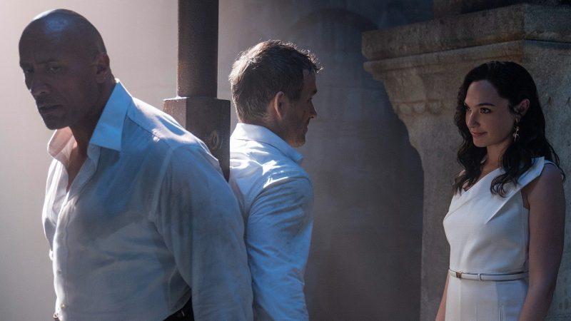 Trailer for Netflix movie con Dwayne Johnson, Gal Gadot e Ryan Reynolds