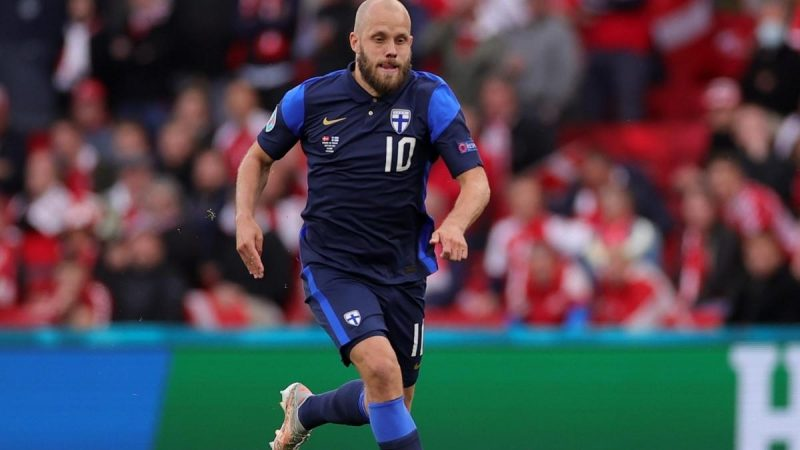 Pukki scored a historic double and made Finland dream of the World Cup for the first time