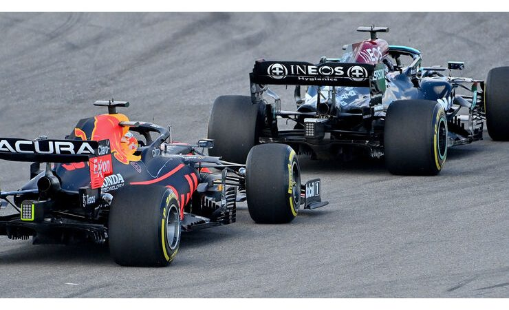 Red Bull is looking for Mercedes' secrets on the strait