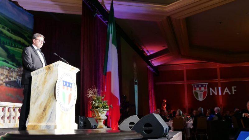 At NIAF Gala, Minister Giorgetti praises the courage of Italian Americans - La Voce di New York