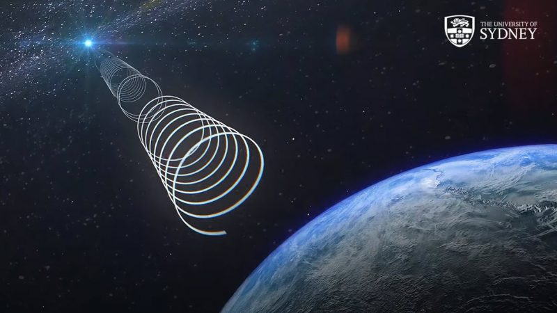 A mysterious radio signal from the depths of the galaxy is puzzling
