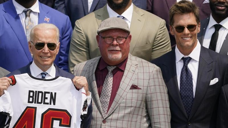 American Football – At Biden's Reception: Brady's targeted tips against Trump – Sports