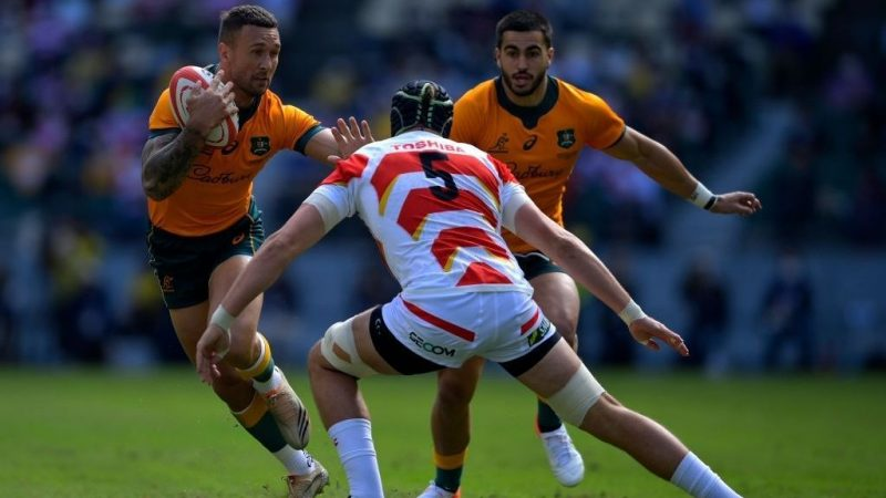 Australia was superior and defeated Japan 32-23 in Oita