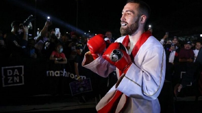 Boxing: Sandor Martin gave the bell in the United States