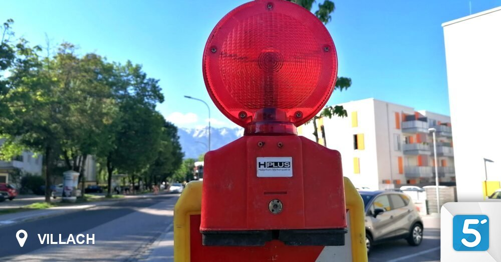 Construction sites: These streets in Villach will soon be closed in 5 minutes