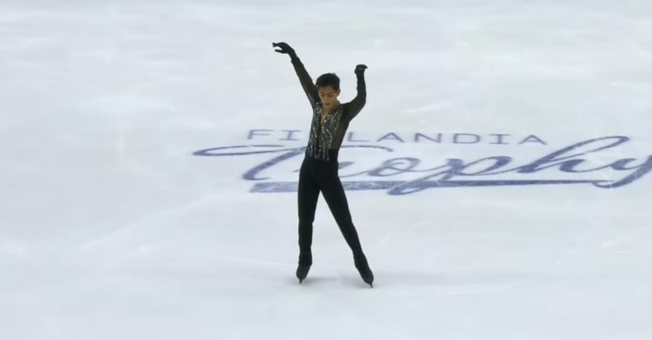 Donovan Carrillo makes historic leaps on Finnish ice