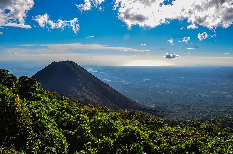 El Salvador is already officially volcano mining