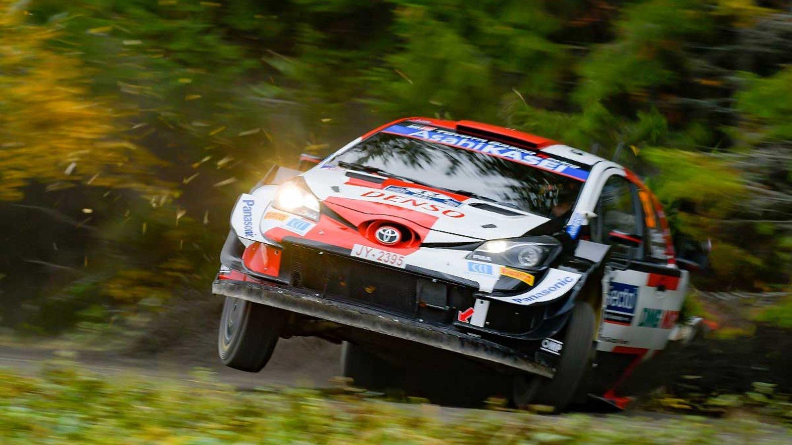 Elvin Evans wins Rally Finland