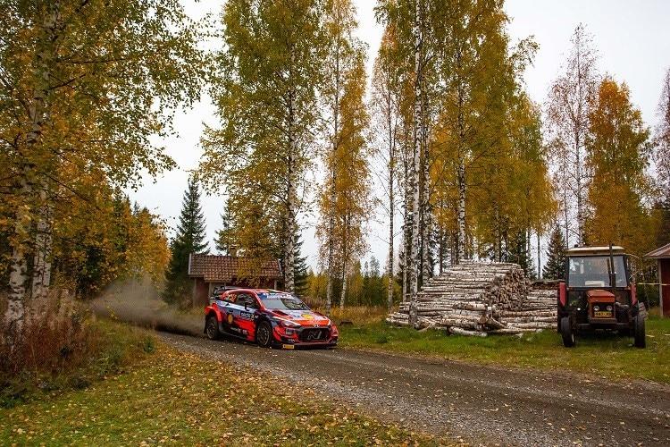Finland: Hyundai's two-stroke in the Toyota / WRC . region