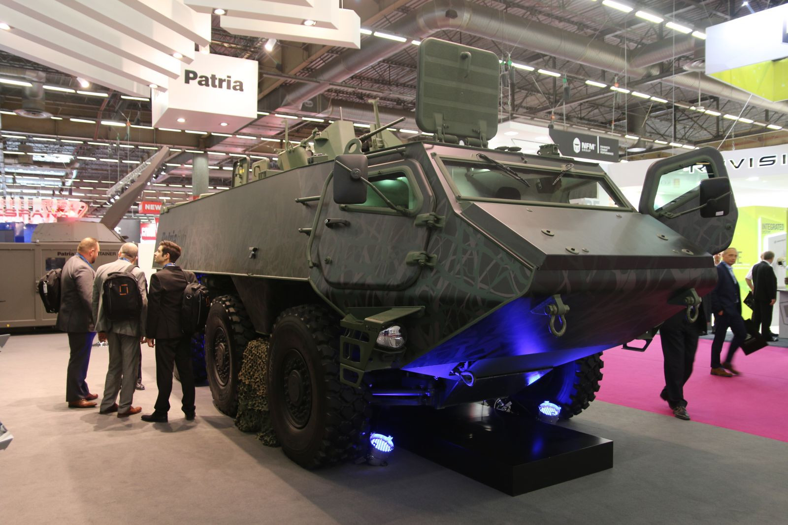 Finland and Latvia ordered the first 200 6×6 armored vehicles from Homeland for 200 million