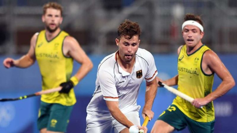 Hockey live at Olympia: Germany plays hard, but is under Australia