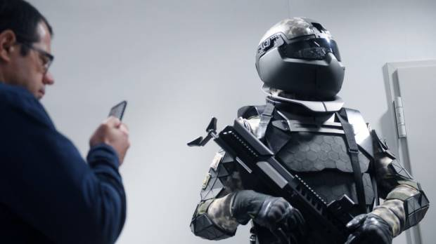 Russia develops exoskeleton and robotic suit for future soldiers